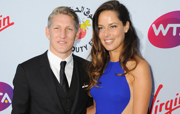 Bastian Schweinsteiger i Ana Ivanović zaręczyli się! /Eamonn M. McCormack /Getty Images