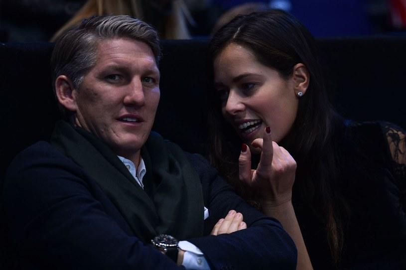 Bastian Schweinsteiger i Ana Ivanović /GLYN KIRK /AFP