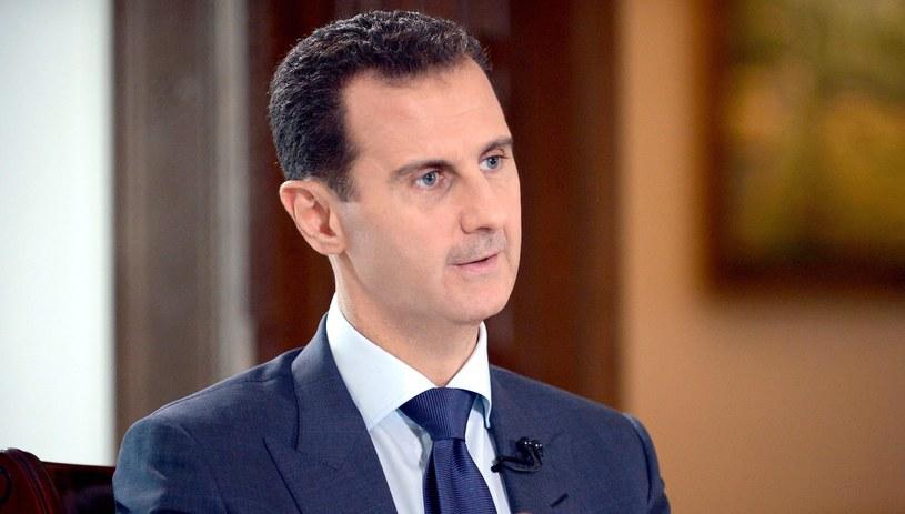 Baszar al-Asad /SANA HANDOUT /PAP/EPA