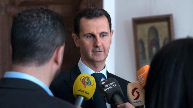 Baszar al-Assad /EPA/SANA /PAP/EPA