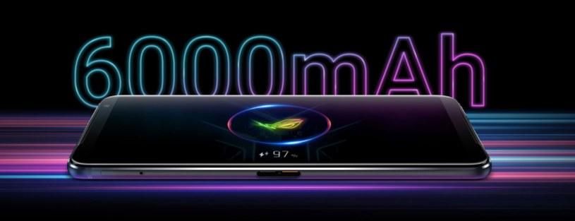Bateria będzie jedną z najmocniejszych stron ROG Phone 3 Strix Edition /materiały prasowe