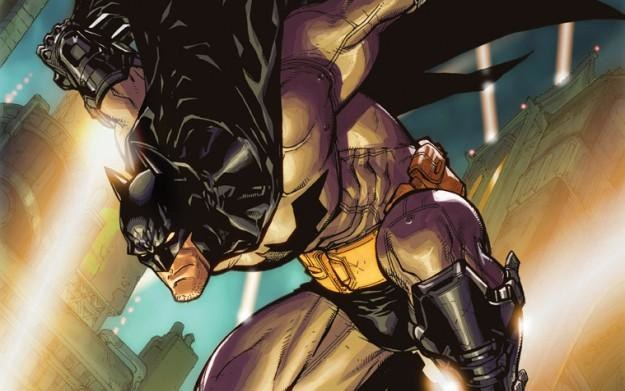 Batman: Arkham City - Okładka pierwszego zeszytu /Informacja prasowa