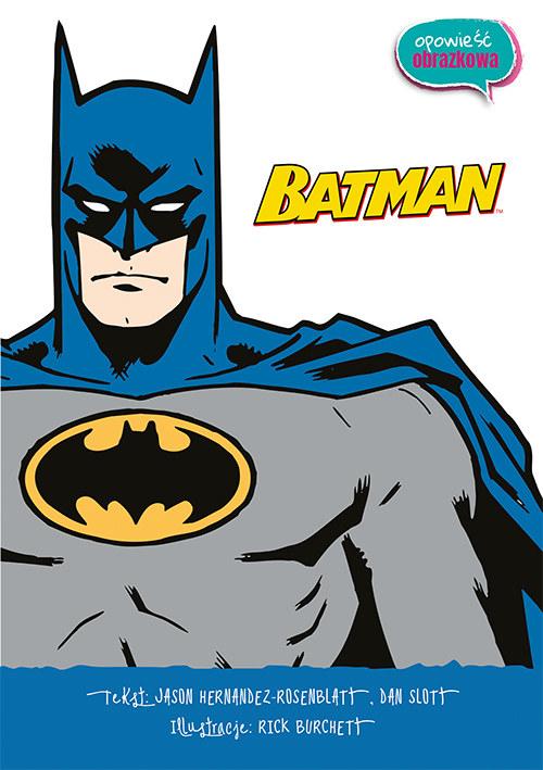 """""""Batman. Opowieść obrazkowa"""" /INTERIA.PL/materiały prasowe"""