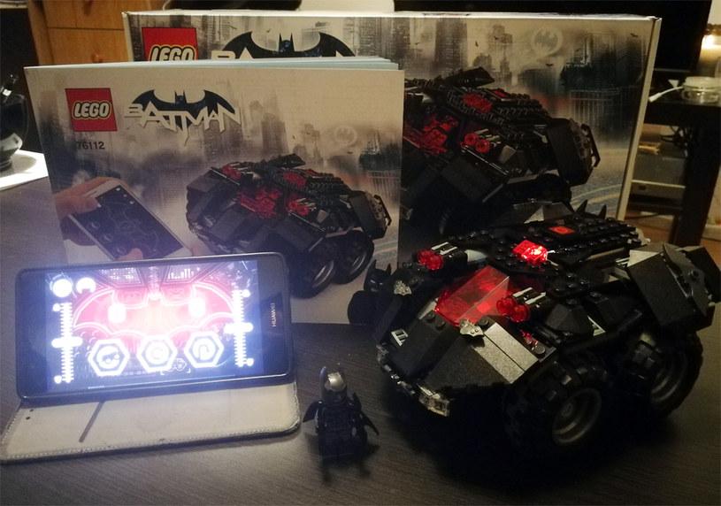 Batmobil Lego to naprawdę udana zabawka /INTERIA.PL