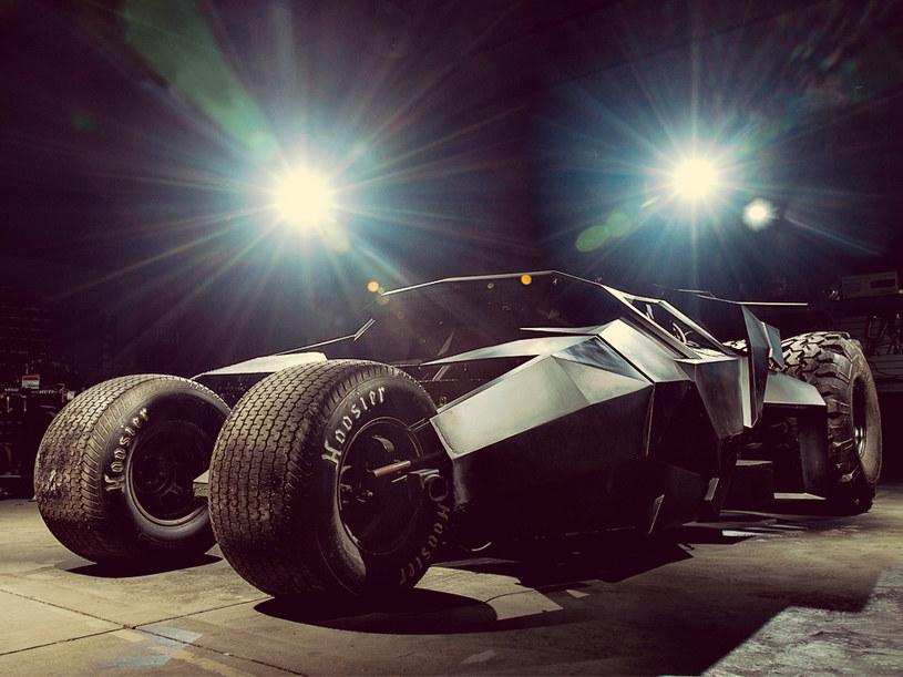 Batmobil (Tumbler), którym Team Galag wystartuje w tegorocznym wyścigu Gumball 3000 /materiały prasowe