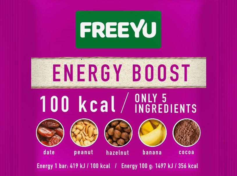 Baton FreeYu 100 kcal /materiały prasowe
