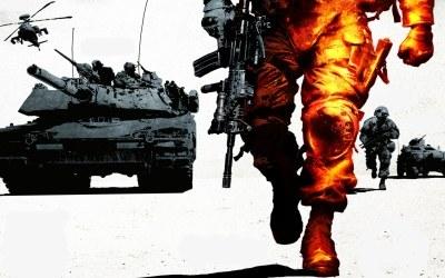 Battlefield: Bad Company 2 - fragment okładki z gry /INTERIA.PL