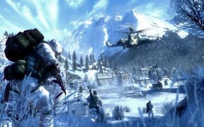 Battlefield: Bad Company 2 - motyw z gry /Informacja prasowa