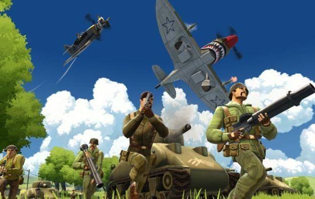 Battlefield Heroes - motyw graficzny /Informacja prasowa