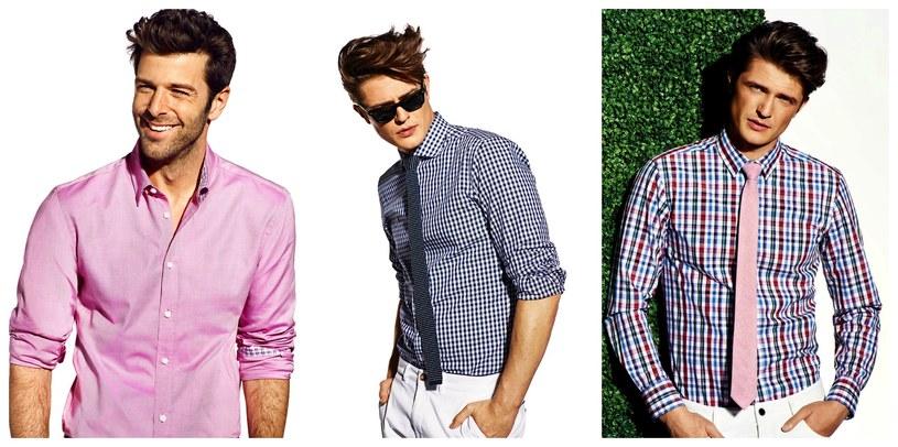 Bawełniana koszula i jedwabny krawat są niezmiennie synonimem dobrego gustu i klasy /materiały prasowe