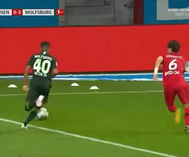 Bayer Leverkusen 1-4 VfL Wolfsburg - skrót (ZDJĘCIA ELEVEN SPORTS). WIDEO