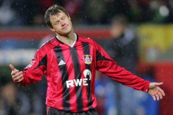 Bayer Leverkusen raczej nie zwolni Jacka Krzynówka na zgrupowanie kadry. Fot. Maciej Śmiarowski /Agencja Przegląd Sportowy