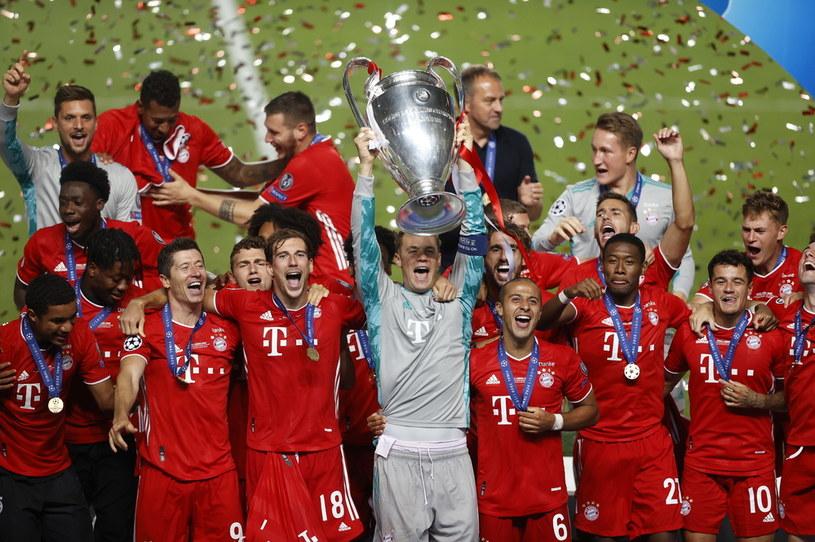 """""""Bayern jest po prostu zespołem odległym o lata świetlne, z innej galaktyki. Zasługują na każde euro. Może warto by coś z tego stylu wdrożyć?"""" /Pool / Pool /Getty Images"""