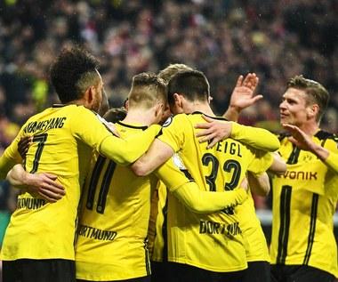 Bayern Monachium - Borussia Dortmund 2-3 w półfinale Pucharu Niemiec