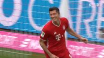 Bayern Monachium - Eintracht Frankfurt 5-0 - skrót (ZDJĘCIA ELEVEN SPORTS). WIDEO