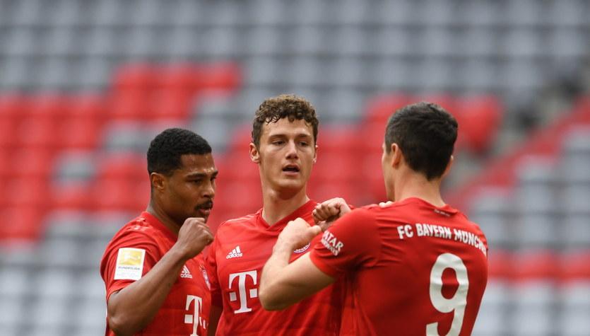 Bayern Monachium - Fortuna Duesseldorf 5-0 w 29. kolejce, dwa gole Lewandowskiego