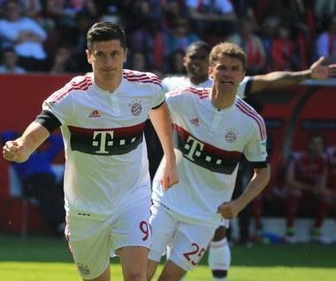 Bayern Monachium mistrzem Niemiec. Dwie bramki Lewandowskiego