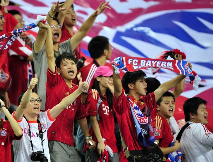Bayern Monachium na w Chinach wielu fanów /AFP