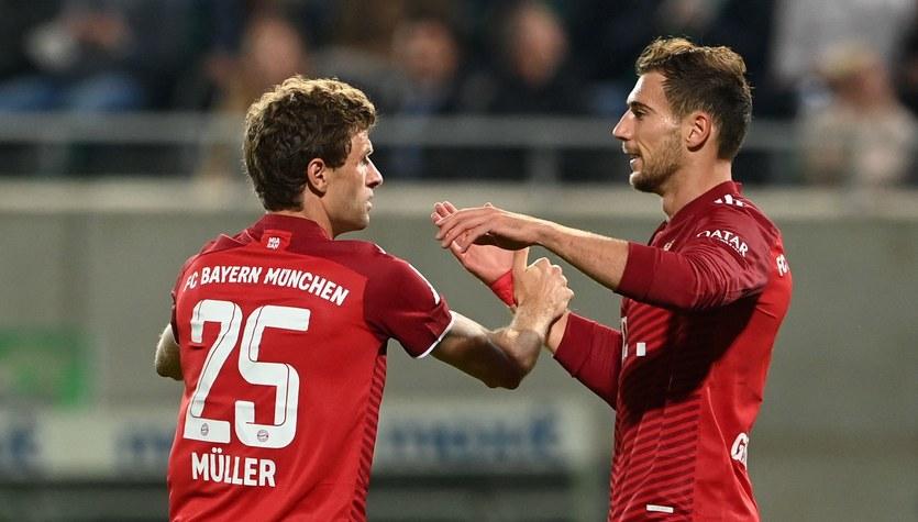 Bayern Monachium pewnie pokonał SpVgg Greuther Fuerth. Robert Lewandowski bez gola
