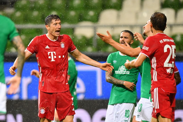 Bayern Monachium piłkarskim mistrzem Niemiec /STUART FRANKLIN / POOL / AFP /PAP/EPA