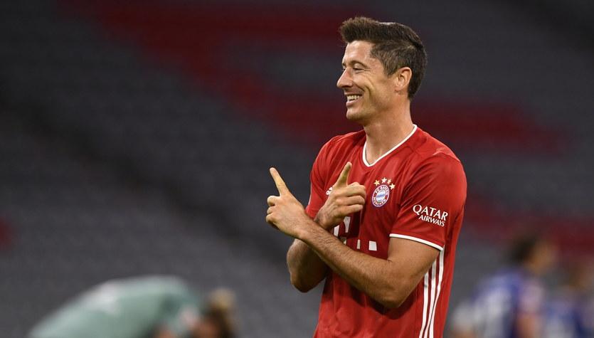 Bayern Monachium - Schalke 04 Gelsenkirchen 8-0. Gol i dwie asysty Roberta Lewandowskiego