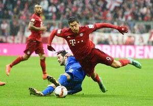 """Bayern Monachium - SV Darmstadt 3-1. Sędzia zabrał """"Lewemu"""" dublet"""