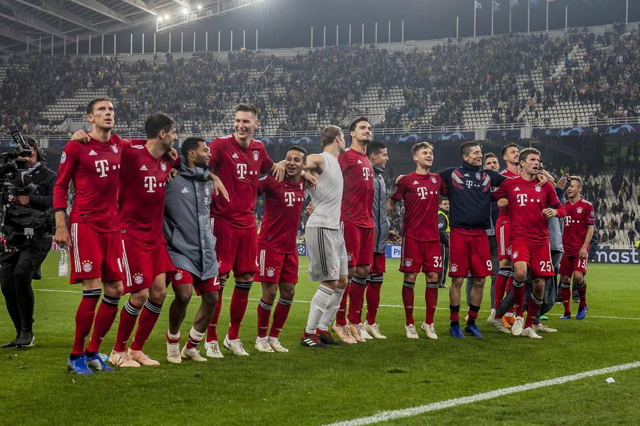 Bayern Monachium z Robertem Lewandowskim w składzie wygrał w Atenach 2:0 /PANAGIOTIS MOSCHANDREOU /PAP/EPA