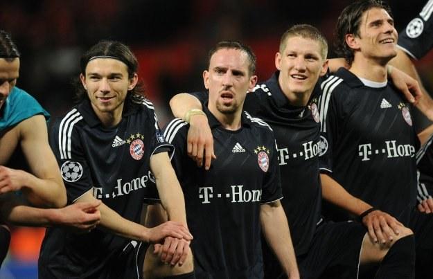 Bayern Monachium zgarnia 18 milinów euro rocznie za reklamę na koszulkach /AFP