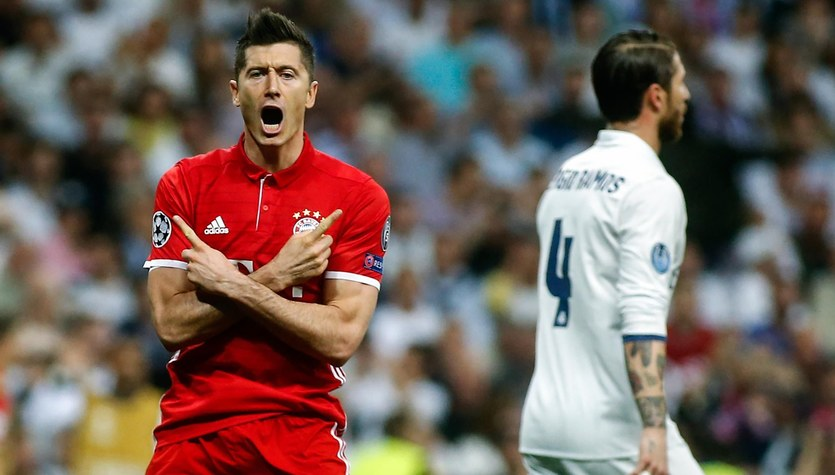 """Bayern - Real. """"Marca"""" ostrzega Real: Robert Lewandowski jednym z pięciu filarów Bayernu"""