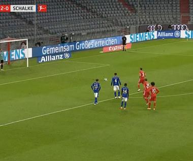 Bayern - Schalke. Gol i dwie asysty Lewandowskiego (ZDJĘCIA ELEVEN SPORTS). Wideo