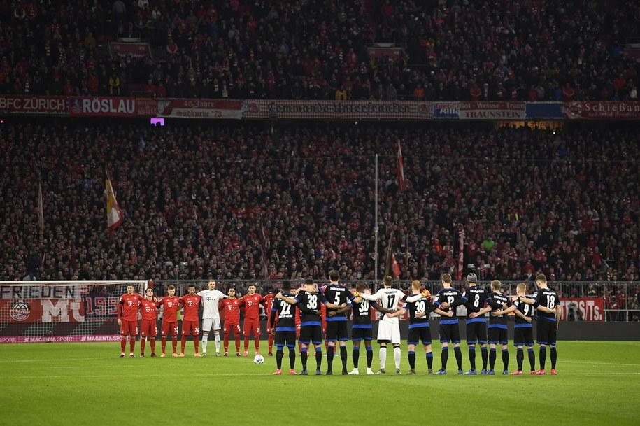 Bayern wygrał wczorajsze spotkanie 3:2 /LUKAS BARTH-TUTTAS /PAP/EPA