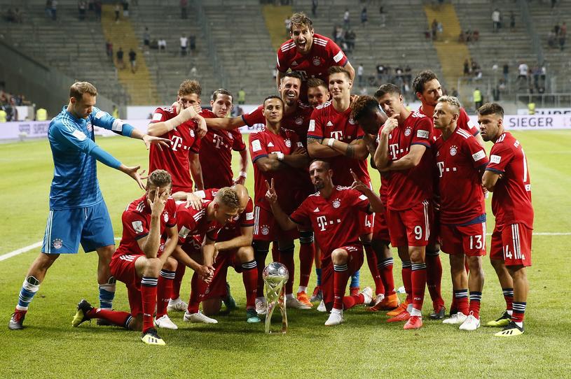 Bayern zdobył Superpuchar Niemiec /PAP/EPA