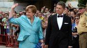 Bayreuth: Angela Merkel spadła z zepsutego krzesła