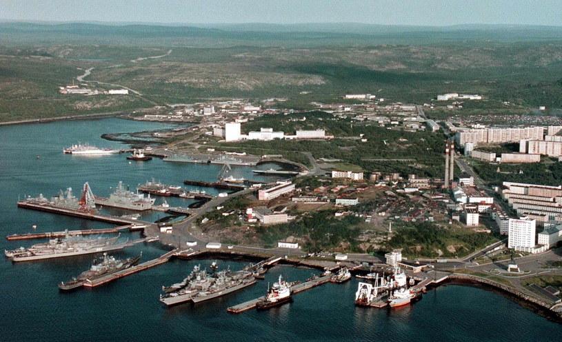 Baza marynarki wojennej w Siewieromorsku /PAP/EPA