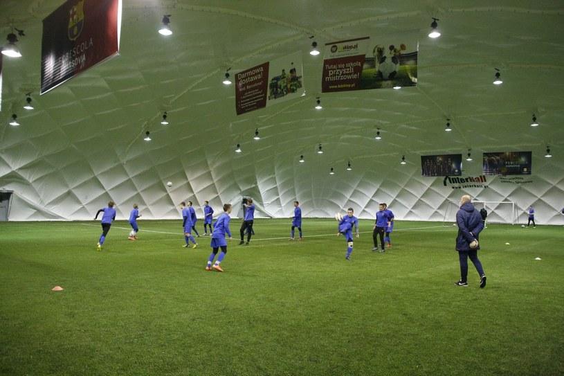 Baza treningowa FCB Escola Varsovia / Źródło: FCB Escola Varsovia /INTERIA.PL