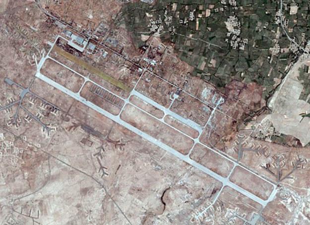 Baza w Bagram, widok z Satelity /Stock pictures /East News
