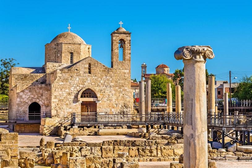 Bazylika Chrysopolitissa Panagia w Paphos /123/RF PICSEL