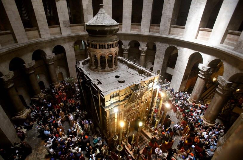 Bazylika Grobu Pańskiego w Jerozolimie /GALI TIBBON /East News