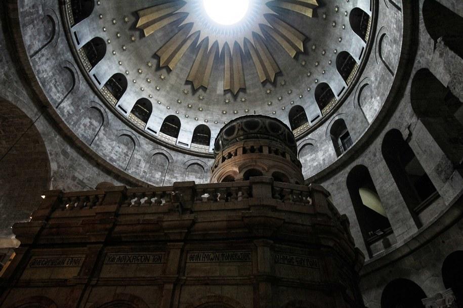 Bazylika Grobu Pańskiego w Jerozolimie /Mateusz Marek /PAP