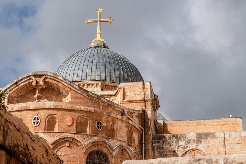 Bazylika Grobu Świętego w Jerozolimie           123RF/PICSEL /