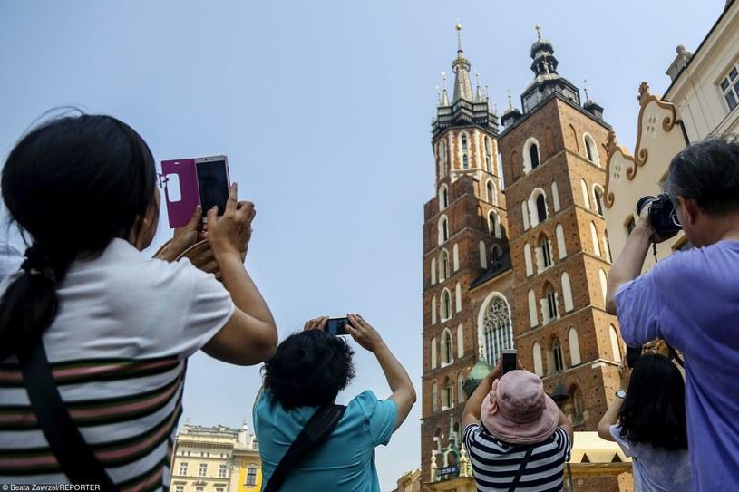 Bazylika Mariacka w Krakowie /Beata Zawrzel/REPORTER /East News