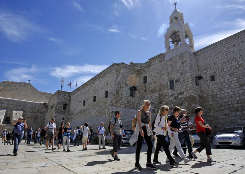 Bazylika Narodzenia Pańskiego oraz inne kościoły w Betlejem zostały zamknięte z powodu koronawirusa /MUSA AL SHAER  /AFP