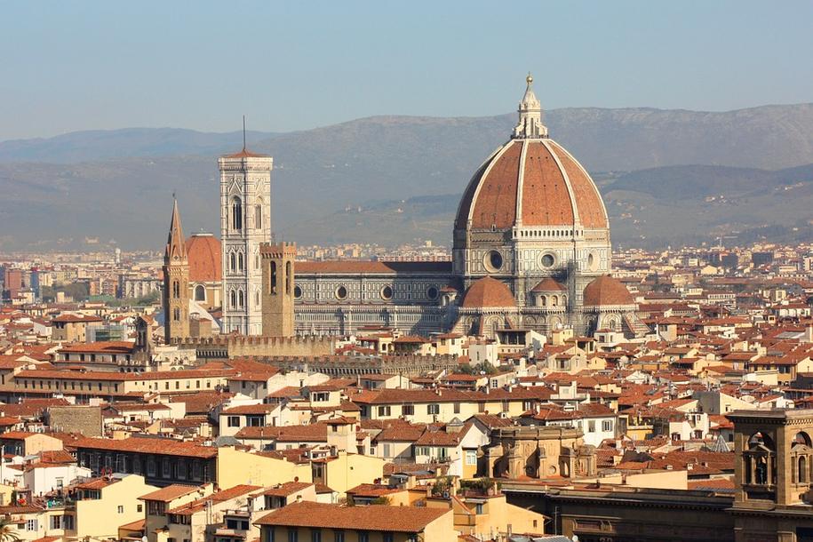 Bazylika we Florencji /foto. pixabay /