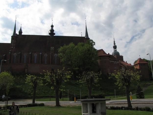 Bazylika we Fromborku. Fot. RMF FM. /RMF FM