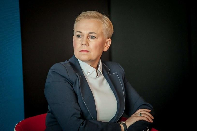 Beata Daszyńska-Muzyczka, prezes Banku Gospodarstwa Krajowego, fot Ireneusz Rek /INTERIA.PL