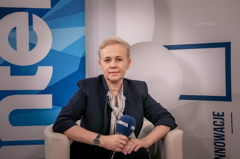 Beata Daszyńska-Muzyczka, prezes Banku Gospodarstwa Krajowego /Ireneusz Rek /INTERIA.PL
