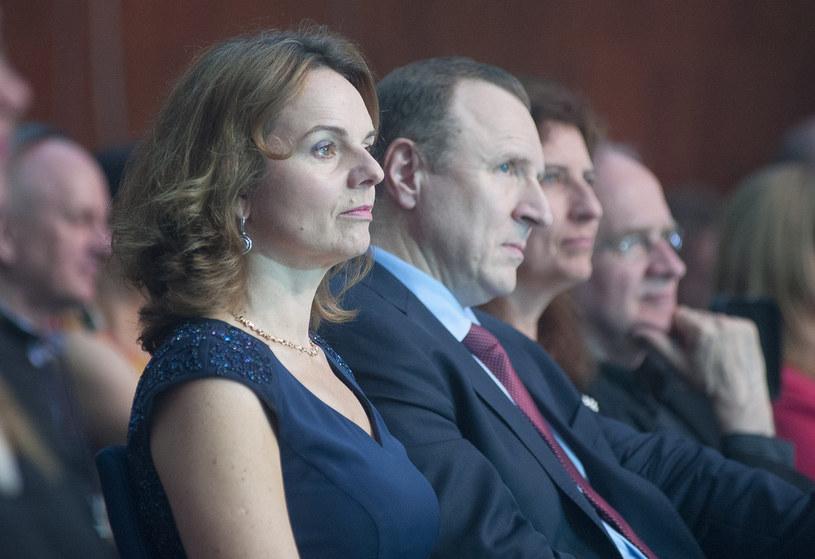 Beata Fido i Jacek Kurski /Wojciech Stróżyk /Reporter