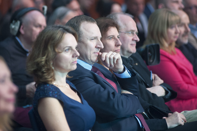 Beata Fido, Jacek Kurski /Fot. Wojciech Strozyk /Reporter