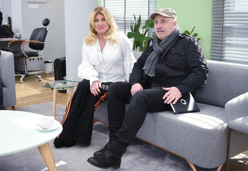"""Beata i Andrzej w """"Dzień Dobry TVN"""" /Justyna Rojek /East News"""