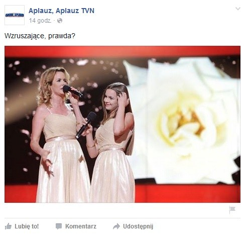 """Beata i Katarzyna w piosence """"Z całego serca życzę ci"""" / Facebook /&nbsp /"""